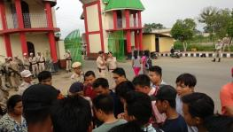 Manipur University Protest