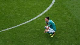 Mesut Ozil has said he will never play for Germany football team