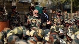 Modi and armed forces