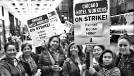 chicago hotel employees' strike