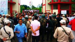 manipur university general strike
