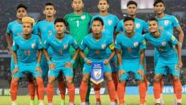 Indian U-17 football team at FIFA U-17 World Cup in 2017.