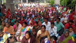 Bengaluru Municipality Civic Workers' Protest