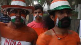 Indian hockey team fans at FIH Men's Hockey World Cup