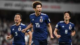 Yuya Osako of Japan football team at AFC Asian Cup semifinal