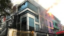 After Arpit Hotel, Archies Factory in Naraina Goes Ablaze