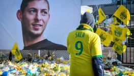 Emiliano Sala tribute at FC Nantes' Stadium