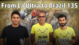Indian finishers at Brazil 135 Ultramarathon