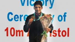 Saurabh Chaudhary wins gold with new world record at ISSF World Cup shooting