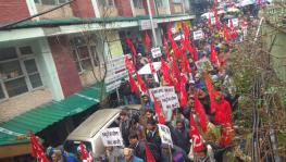 Workers Protest Against Stalling of Registration of Workers' Unions in Himachal