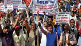 Farmers and Workers March to Vidhan Sabha in Bihar