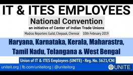 First National Convention of the IT-ITES Employees
