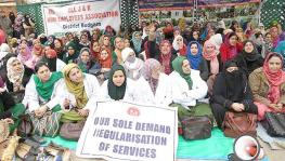 National Health Mission contractual employees in Jammu & Kashmir