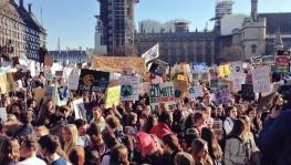 UK Students Join Mobilisations on Climate Change