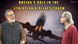 D. Raghunandan and NewsClick editor-in-chief Prabir Purkayastha discuss the hasty designing of the Boeing 737 MAX 8, which seems to be the cause behind this disaster.