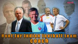 Hunt for the new Indian football team coach