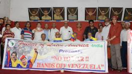 Solidarity Meeting in Kolkata Flays US Designs in Venezuela