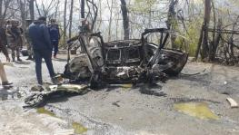 Blast Damages CRPF Vehicle on Jammu-Srinagar Highway