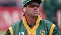 Hansie Cronje, former South Africa cricket team captain
