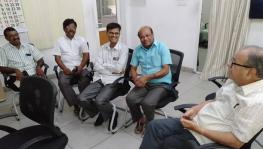Professor Haragopal and other teachers under preventive detention.