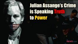 Julian Assange's Crime is Speaking Truth to Power