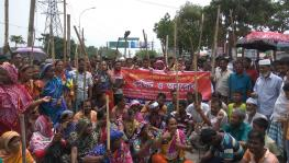 Bangladesh jute mill workers strike