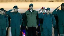 Nicolas Maduro Exhorts Venezuela Military to Fight 'Any Coup Plotter'