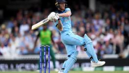England cricket team's Ben Stokes at the ICC Cricket World Cup 2019