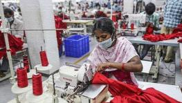 Garment workers in India