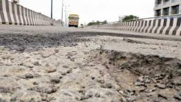 Damaged Palarivattom Flyover Reflects Corruption During Oommen Chandy Government