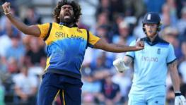 Lasith Malinga of Sri Lanka cricket team during the match against England at the ICC World Cup 2019
