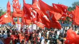 Flags of Communist Party of India (Marxist)