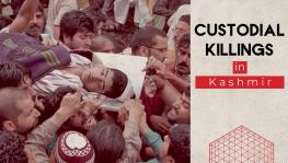 Custodial killings in Kashmir