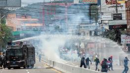 Honduras Protest Against Privatisation