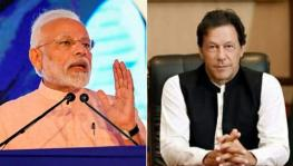 Indian Prime Minister Narendra Modi and Pakistani Prime Minister Imran Khan. Courtesy: India Today