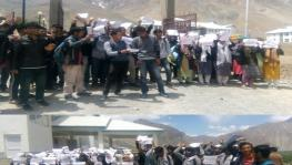 Ladakh: Protests in Kargil Against Govt Decision on Location of Cluster University