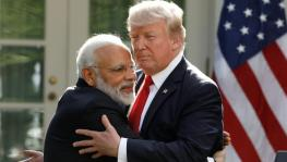 US President Donald Trump and Narendra Mod
