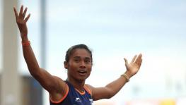 Indian athlete Hima Das