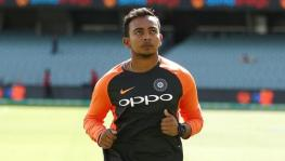 Indian cricket team's Prithvi Shaw banned for doping by the BCCI