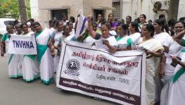 Tamil Nadu Village Nurses Protest Against Government's Negligence