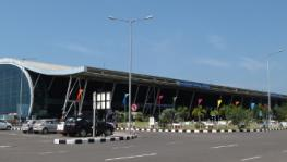 Terminal 2 of Thiruvananthapuram International Airport, which is one of the six airports that are being proposed to be privatised by the Narendra Modi government