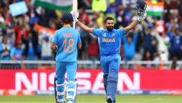 Indian cricket team skipper Virat Kohli and vice captain Rohit Sharma