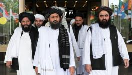 A Taliban delegation led by Abdul Ghani Baradar (centre) visited China recently, according to Beijing.