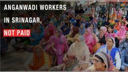 Anganwadi Workers in Kashmir