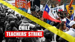 Chile teachers stand their ground in defence of public education