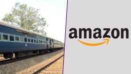 Parcel Union Protest Against Handing over of Railway's Parcel Business to Amazon