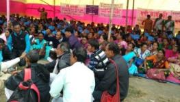 Mid-day Meal Workers Protest