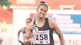 Indian 400m runner Anjali Devi