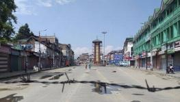 Current Clampdown in Kashmi