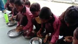 UP School Children Seen Eating Roti-Salt, Data Suggests Huge Scam in Mid-Day Meal Scheme